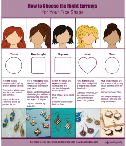 Learn what type of earrings are best for your facial shape.