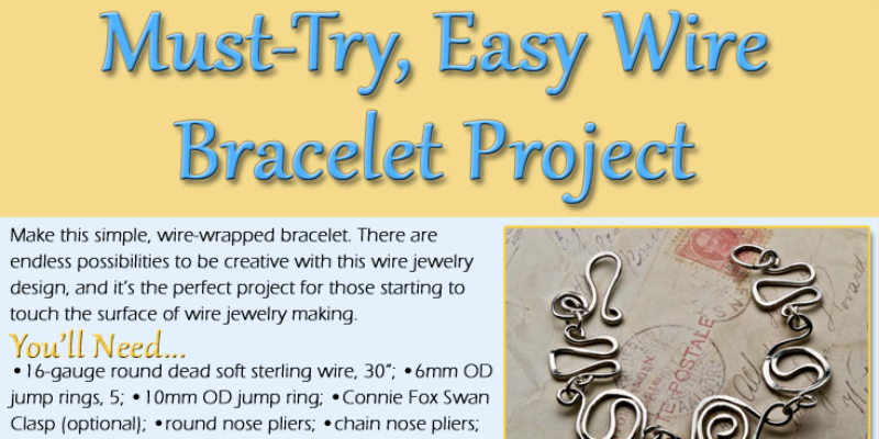 How to Make Wire Jewelry the Right Way: Wire Bracelets