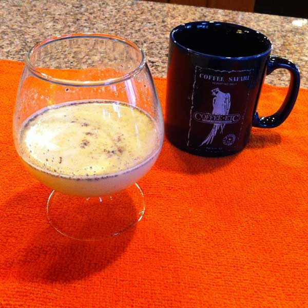 Merle's famous eggnog - make some for yourself.
