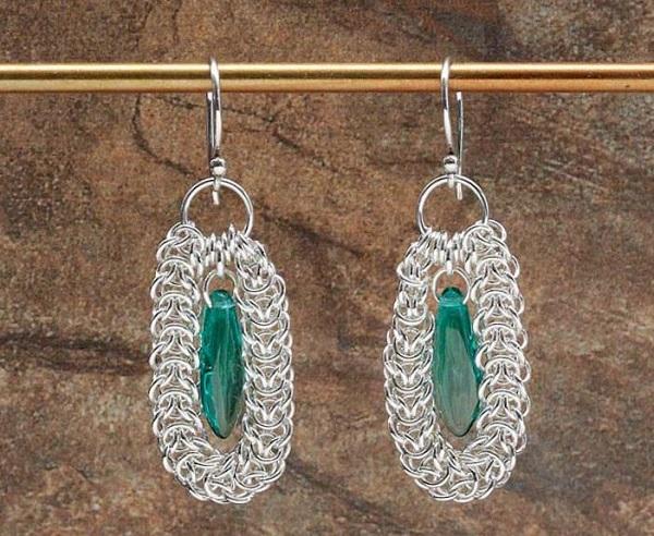 elfweave-loop-chain-maille-earrings