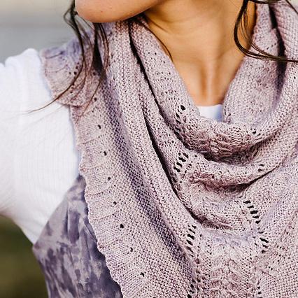 ellipsoidal shawl