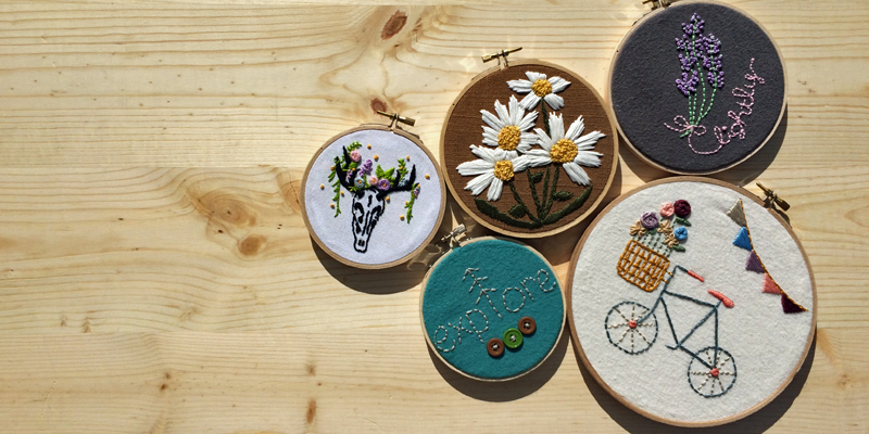 When I Put Down the Yarn, I Reach for the Embroidery Floss