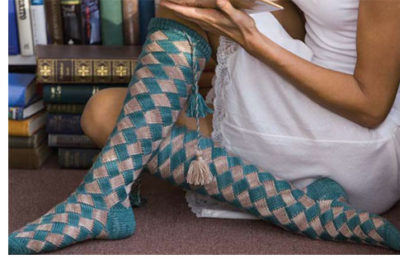 Learn everything you need to know about entrelac knitting in this exclusive knitting guide by Eunny Jang, and create amazing entrelac knits, such as these entrelac socks!