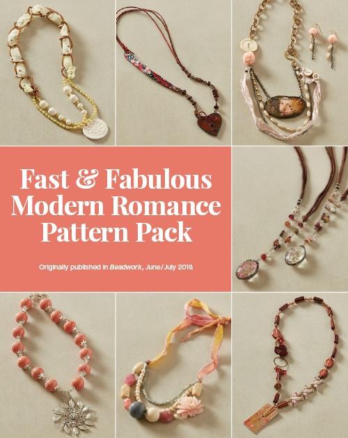 Fast & Fabulous Modern Romance pattern pack