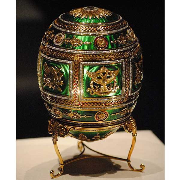 A Faberge egg would make a lovely addition to your holiday gift list and might be perfect for a jewelry maker!