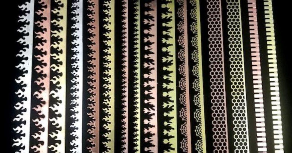Jeff Klein's decorative bezel wires