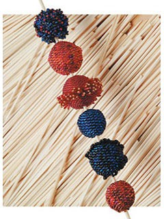 Learn how to make beaded beads in this quick speedy beaded bead project.