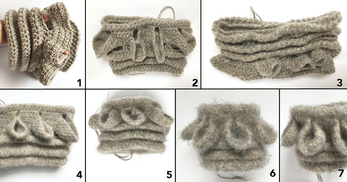 felt crochet