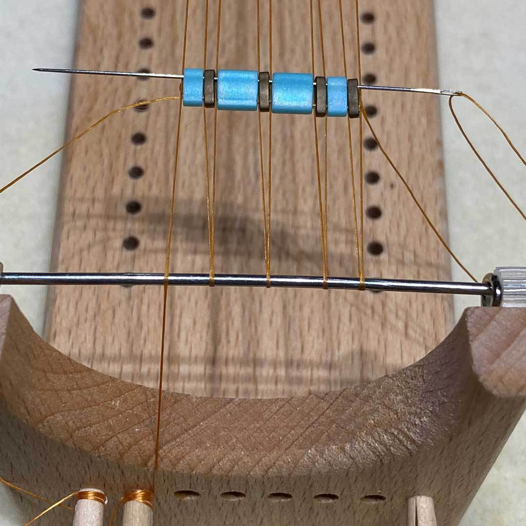 bead looming bracelet tila beads