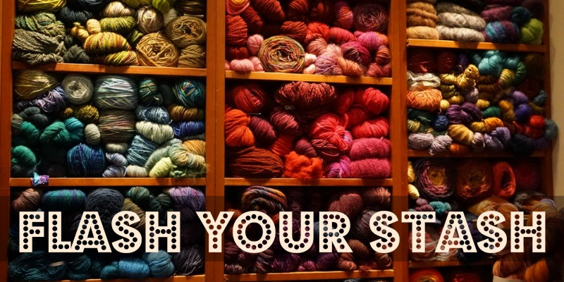 Flash Your Yarn Stash for National Pack Rat Day!