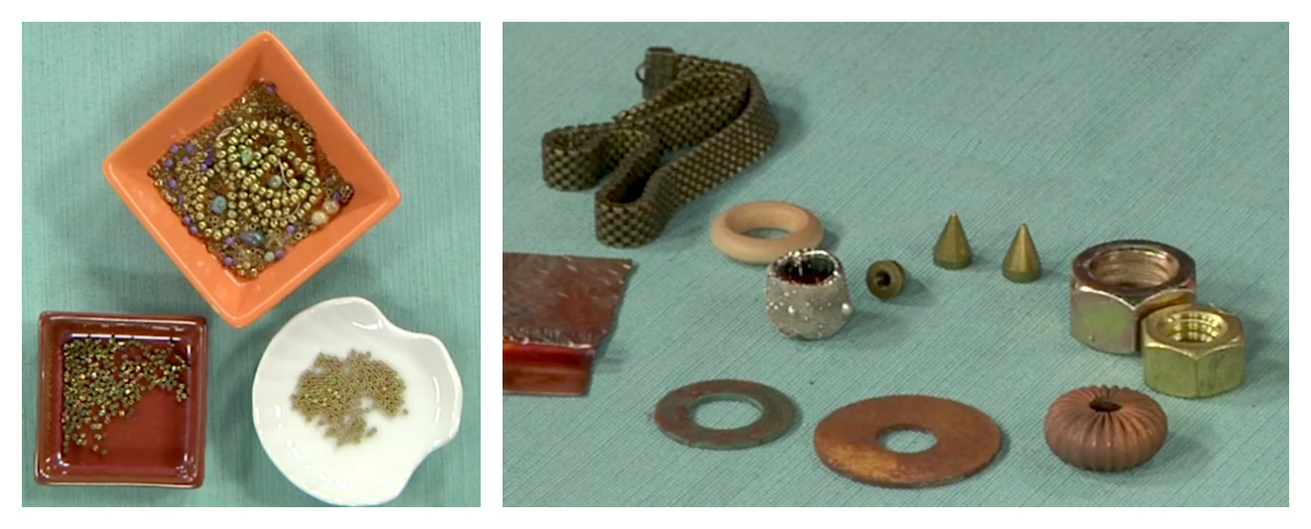 Train your eye to spot unusual items that you might want to add to your next project!