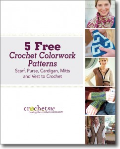 892b3a0de The free Crochet Colorwork Patterns eBook comes with 5 crochet patterns  including a scarf