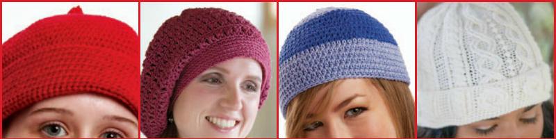 8 Amazingly Free Crochet Hat Patterns