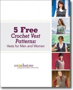 You'll love these 5 FREE crochet vest patterns.