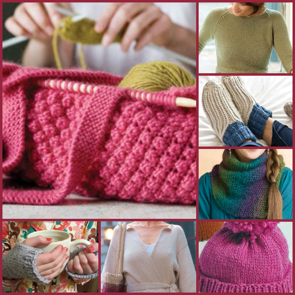 You'll love these free and easy knitting patterns as knitted gifts.