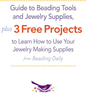 Learn everything you need to know about beading tools and jewelry-making supplies in this free guide.