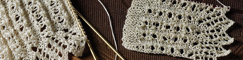7 FREE Knitted Lace Projects from <em>PieceWork</em> Magazine