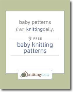 If you love baby knits, then you'll LOVE these free baby knitting patterns from Interweave.
