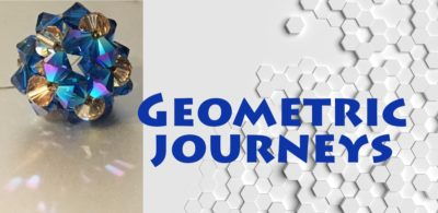 geometric bead designs and origami