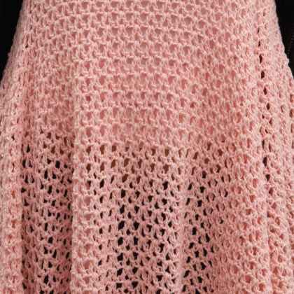 Close up detail of Geometry Dress by Lily Chin