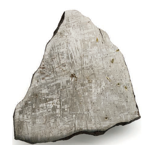 Gibeon meterorite. From the March 2013 issue of Lapidary Journal Jewelry Artist. Photo by Jim Lawson.