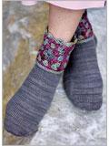 Granddaughter Socks Crochet Pattern.