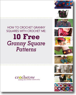 Learn how to make a granny square like a pro with this FREE eBook on crochet granny square patterns.