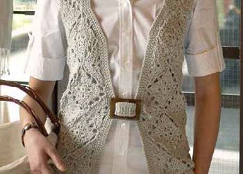 Learn how to make this amazing crochet vest in our free eBook on how to make a granny square and patterns.