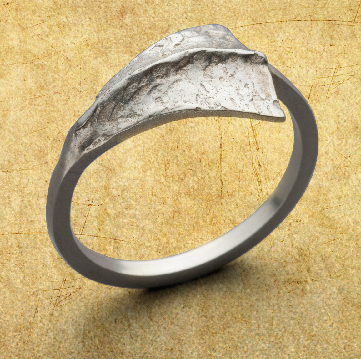 Amanda Hagerman has adopted as her favorite silver the late 20th century development of Argentium Sterling Silver, and shows how to use it in her project Flare for Your Finger in Lapidary Journal Jewelry Artist January/February 2019. Photo: Jim Lawson