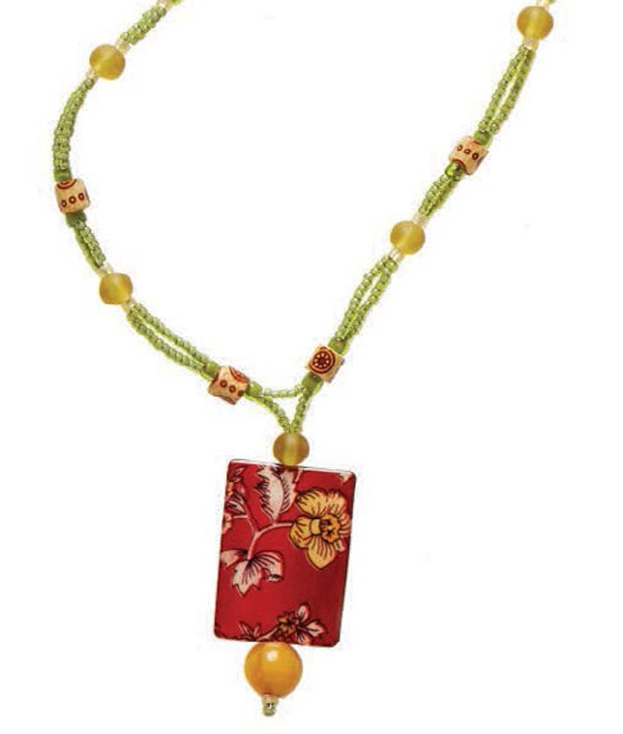Learn how to make necklaces with this free handmade beaded necklace design using seed beads.