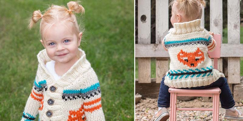 Knit this Cute Toddler's Cardigan for All the Kiddos in Your Life