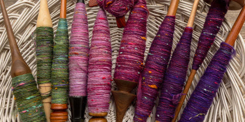 Her Handspun Habit: How to Ply Yarn from Spindles (Part I)