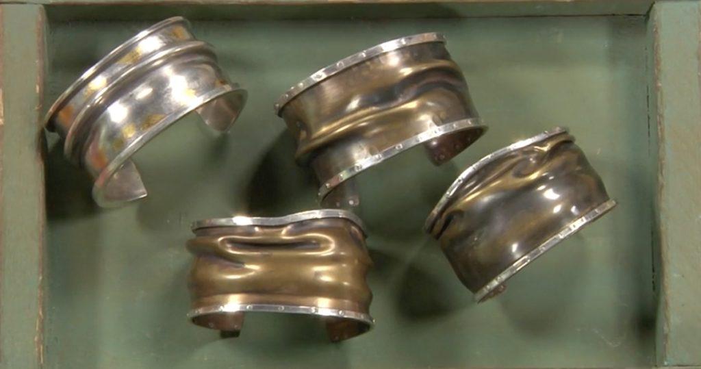 crushed cuff Richard Sweetman hydraulic press