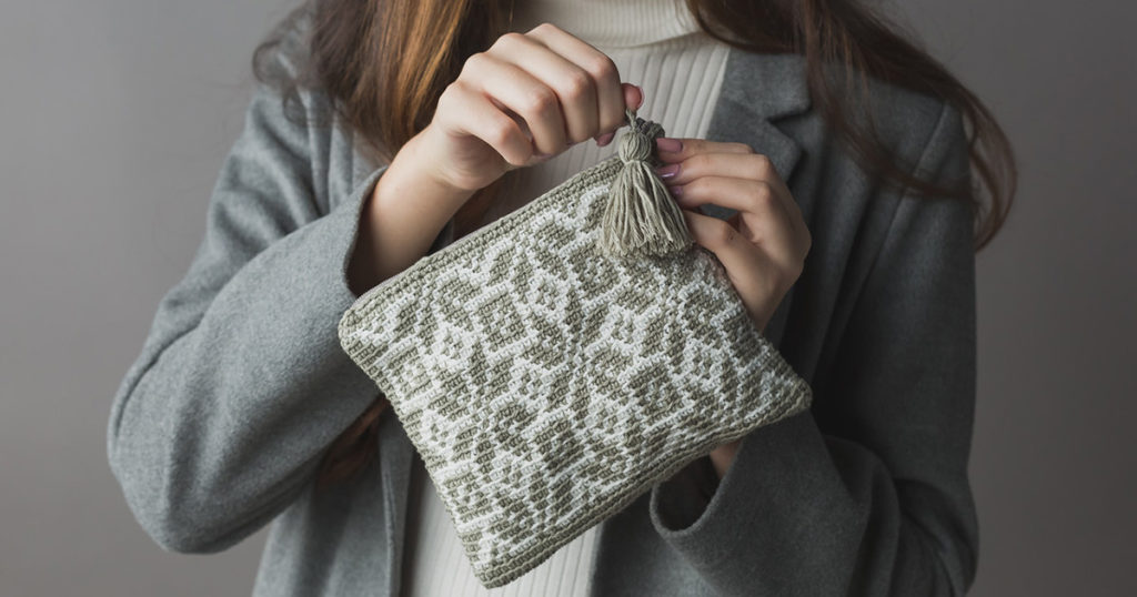 Pattern of the Week: Nordic Tapestry Pouch