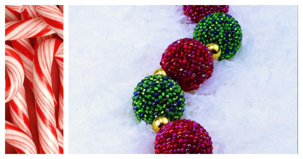 holiday beaded jewelry