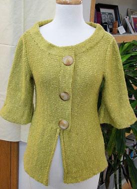 Knitting Gallery - Holly Jacket Bertha