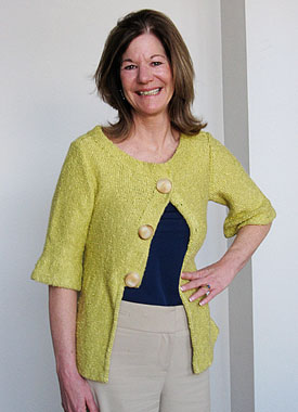 Knitting Gallery - Holly Jacket Kerry