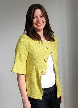 Knitting Gallery - Holly Jacket Sarah