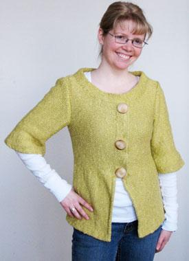 Knitting Gallery - Holly Jacket Toni