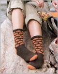 Honeycomb Socks Crochet Pattern.