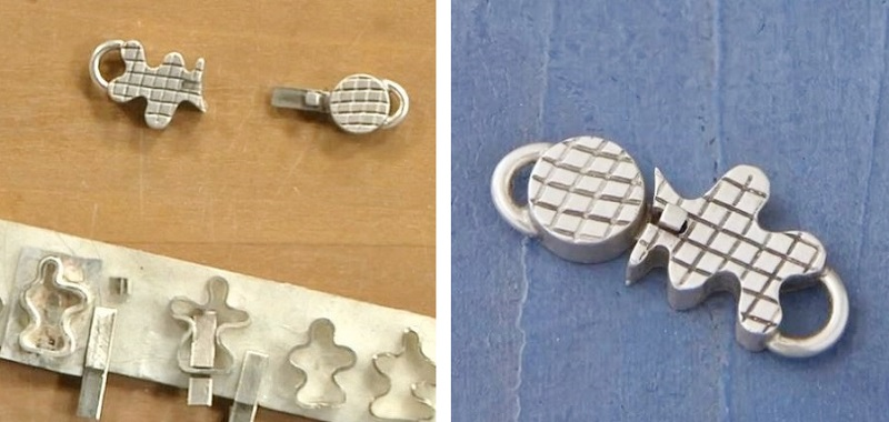 how to make a box clasp with Richard Sweetman