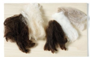 Learn how to choose fibers for your spinning projects in this FREE eBook on wool washing.