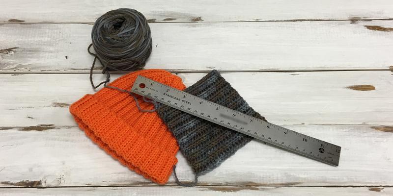 How to Crochet a Gauge Swatch