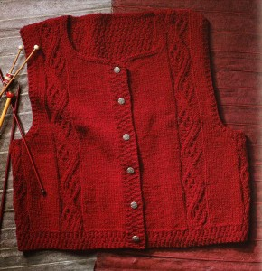 Master the art of knitting vests! 25 knitting patterns to choose from.