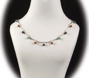 Learn how to make a beaded necklace in our FREE guide on vintage jewelry projects.