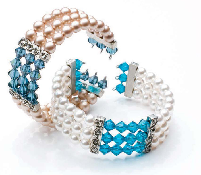 Make a cuff for a wedding in this free eBook on handmade bridal jewelry and other wedding jewelry ideas.