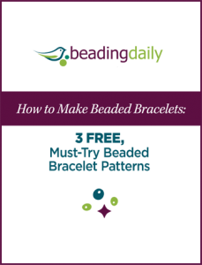 Learn how to make beaded bracelets with these 3 free beaded bracelet patterns.