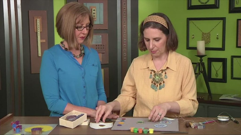 How to Work Bead Embroidery on a Block-Print Pattern with Jen VanBenschoten