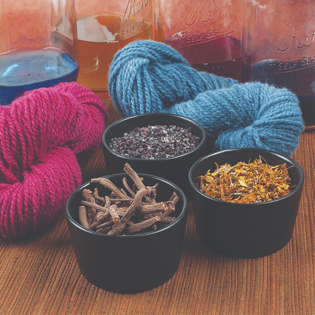 dyeing yarn