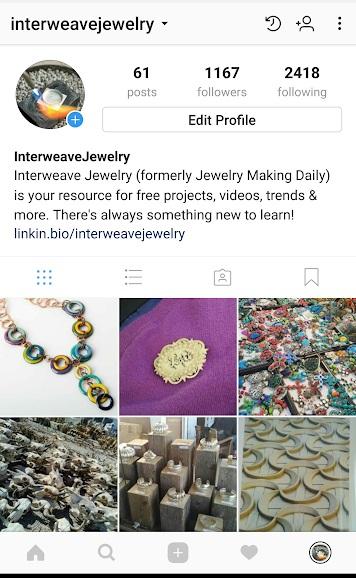 InterweaveJewelry instagram
